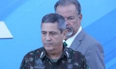 O general Braga Netto será o interventor na segurança do Rio Foto: Ailton Freitas / Agência O Globo