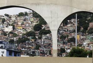 Comunidade da Rocinha, na Zona Sul Foto: Gustavo Miranda / Agência O Globo