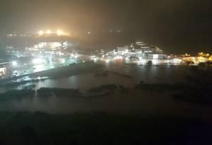Diversos pontos da cidade no Norte Fluminense ficaram alagados Foto: Reprodução
