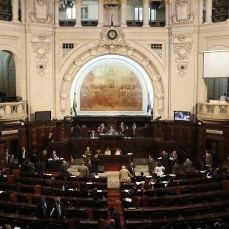 Assembleia Legislativa do Rio (Alerj) Foto: Gustavo Miranda / Agência O Globo