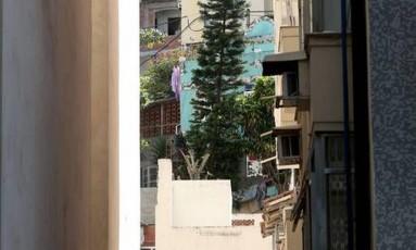 Vista da comunidade no Leme Foto: Custódio Coimbra / Agência O Globo