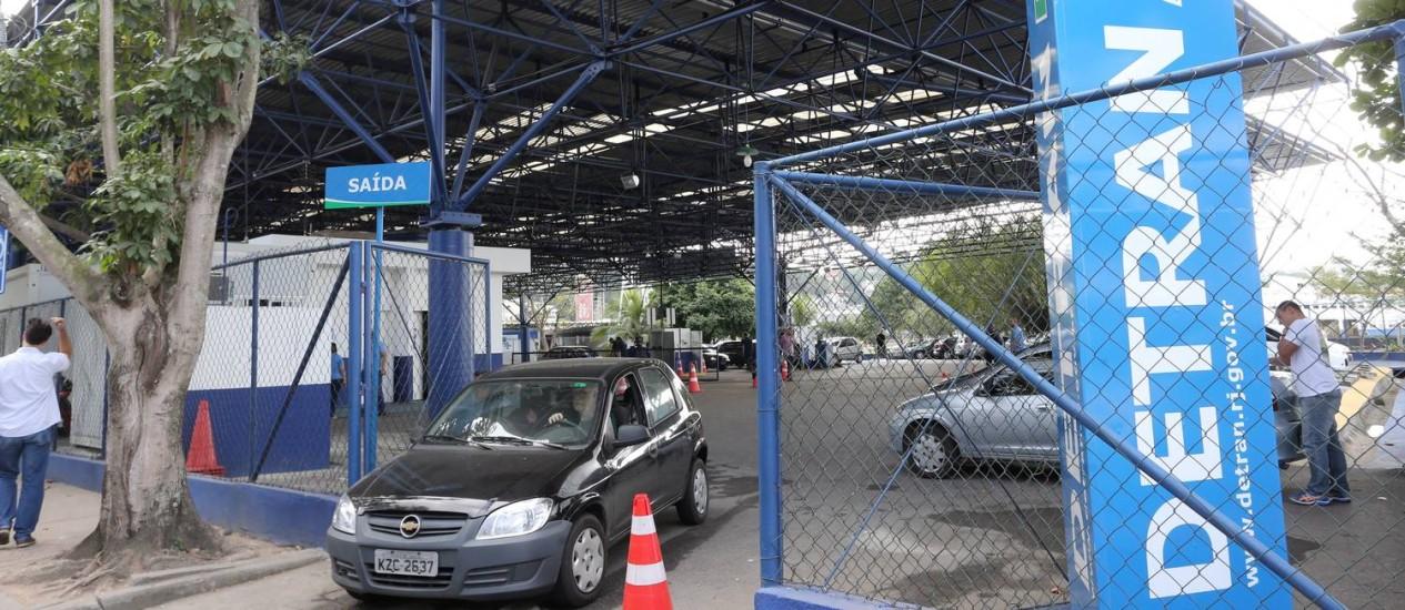 Vistorias noturnas no Detran poderão ser feitas em novo horário Foto: Guilherme Pinto / Agência O Globo