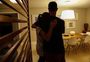Casal de professores universitários conta detalhes do sequestro Foto: Uanderson Fernandes / Agência O Globo