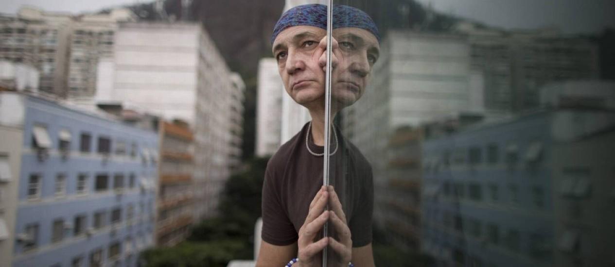 O osteopata Pedro Augusto Guerra, que foi atacado pelo juiz Foto: Agência O Globo / Márcia Foletto