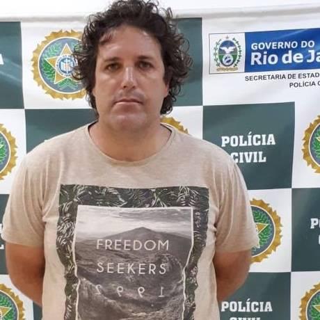 Guilherme era foragido da Justiça fFederal Foto: reprodução