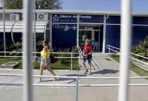 A Clínica da Família Gérson Bergher, em Campinho Foto: Pablo Jacob / Agência O Globo