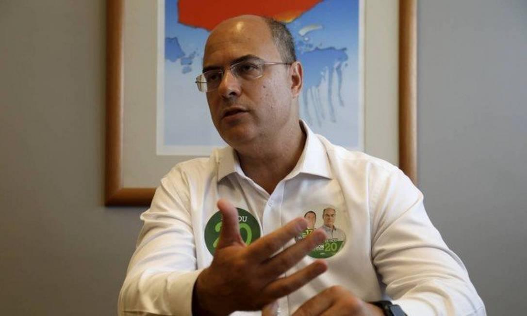 Governador eleito do Rio, Wilson Witzel (PSC) Foto: Custódio Coimbra (26/10/2018) / Agência O Globo