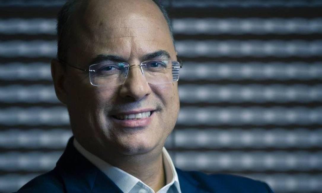 Wilson Witzel, governador eleito no estado do Rio de Janeiro Foto: Leo Martins / Agência O Globo