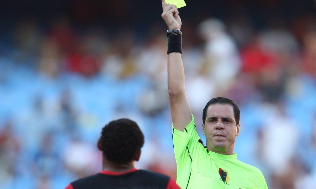 Fonseca foi juiz de futebol Foto: O Globo / Alexandre Cassiano/27-4-2008
