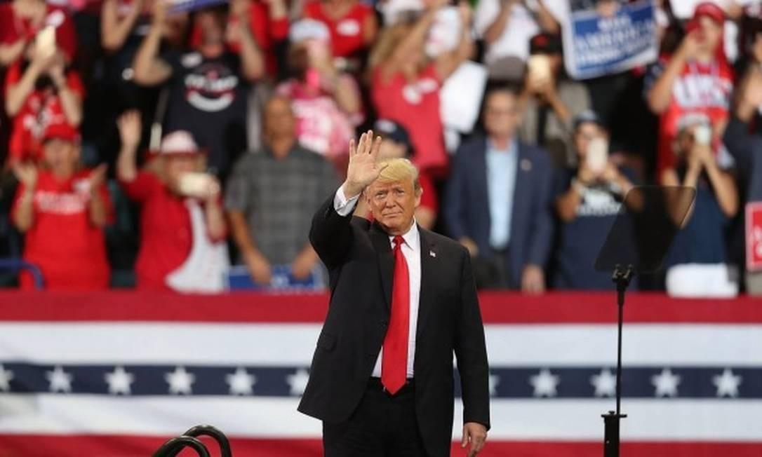 Presidente dos EUA, Donald Trump Foto: JOE RAEDLE / AFP