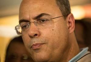 O governador eleito Wilson Witzel Foto: Brenno Carvalho / Agência O Globo