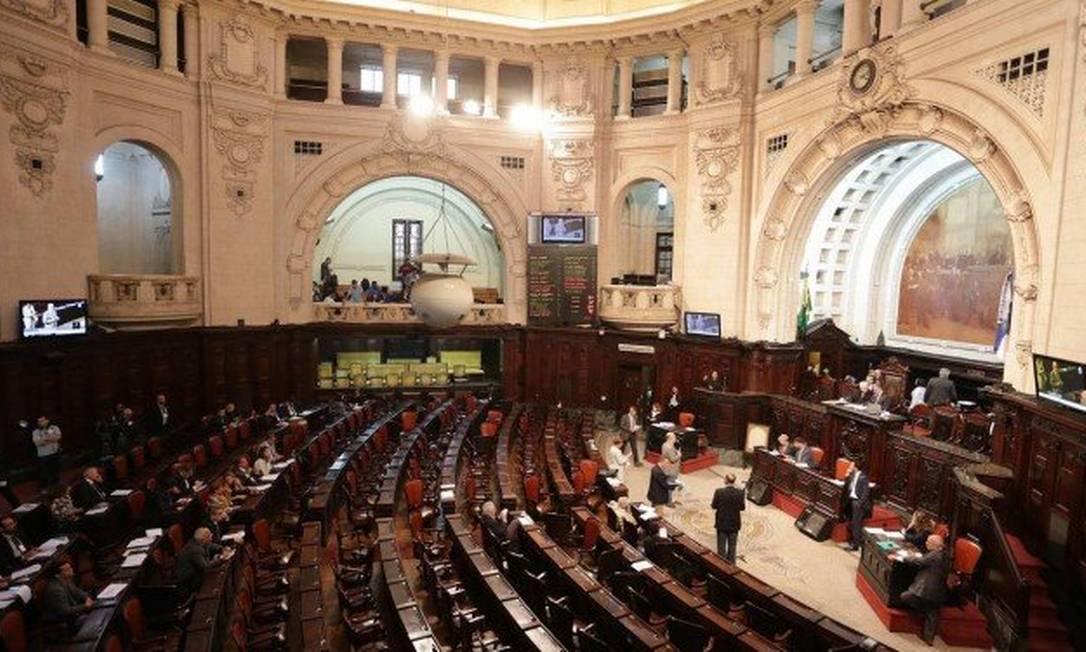 Assembléia Legislativa do Rio (Alerj), no Centro Foto: Márcio Alves / Agência O Globo
