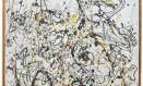 """Pollock. O quadro """"Nº 16"""", do MAM Foto: Reprodução"""