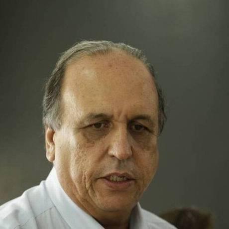 O governador do Rio, Luiz Fernando Pezão Foto Foto: Gabriel de Paiva / Agência O Globo