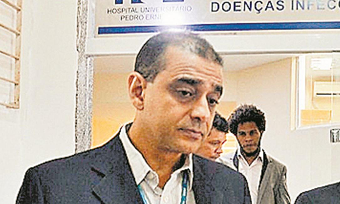 O médico Edmar Santos Foto: Tânia Rêgo/Agência Brasil