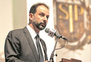 O futuro secretário Luiz Claudio Rodrigues de Carvalho assumirá pasta de estado com déficit orçamentário Foto: Divulgação
