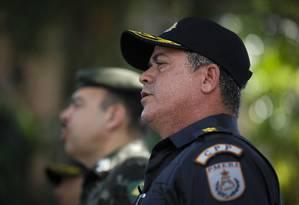Coronel Figueredo, atual comandante do CPP, ficará à frente da PM Foto: Pablo Jacob / Agência O Globo