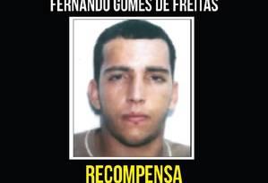 Guarabu é procurado por uma lista extensa de crimes Foto: Reproduçao