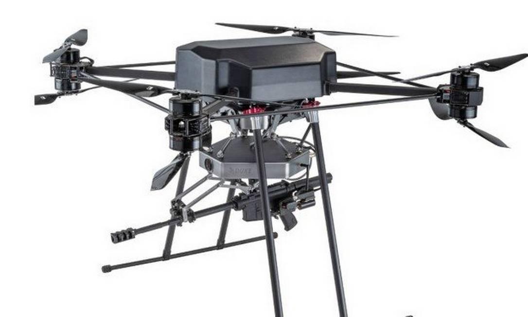 Drone com armamento da Duke Robotics Foto: Divulgação