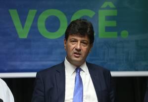 O ministro da Saúde, Luiz Henrique Mandetta Foto: Pedro Teixeira / Agência O Globo