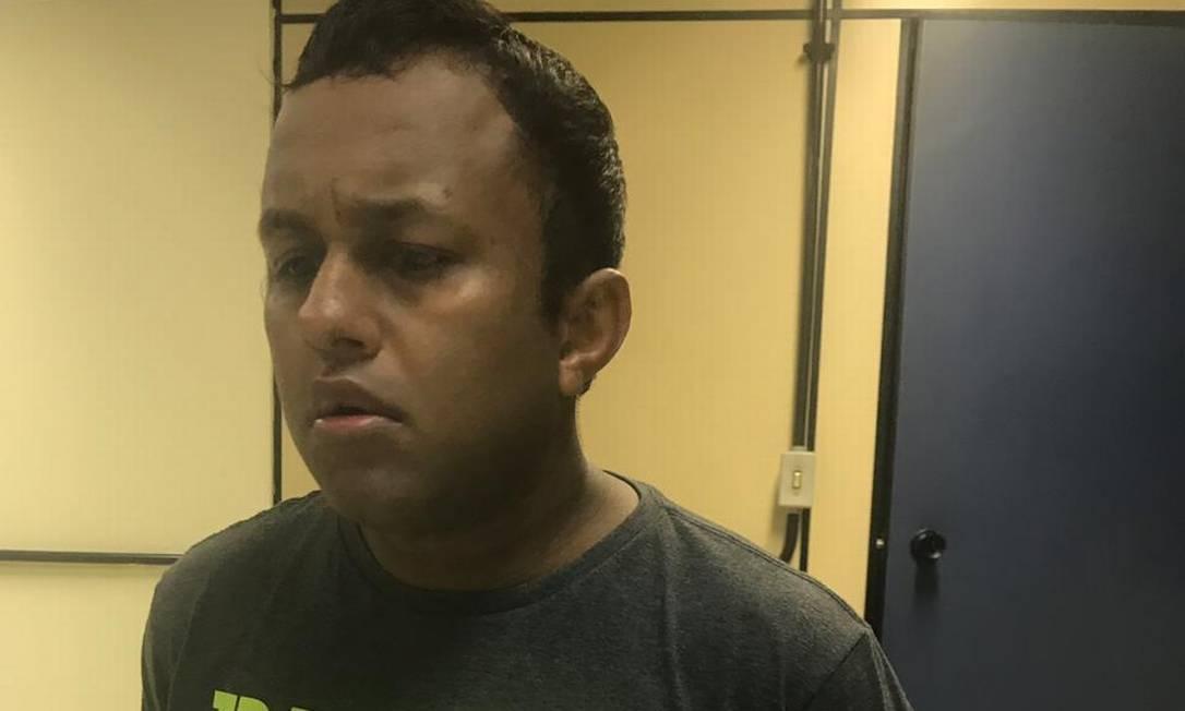 Jefferson Wesley Alves da Páscoa foi preso em um dos acessos do morro de São Carlos Foto: Divulgação - Pcerj