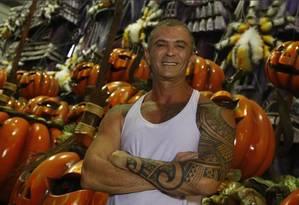 Paulo Barros é carnavalesco da Viradouro Foto: Agência O Globo