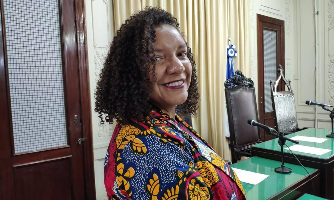 Nascida e criada no Complexo da Maré, a deputada atua na defesa dos Direitos Humanos há mais de 12 anos Foto: Divulgação