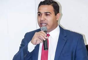 Wendel Coelho: vereador fazia críticas constantes sobre a escalada da violência em Japeri, na Baixada Fluminense Foto: Reprodução
