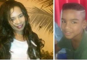 A diarista Zenilda Bispo de Amorim e seu filho Ruan Amorim Rodrigues morreram na tragédia Foto: Reprodução