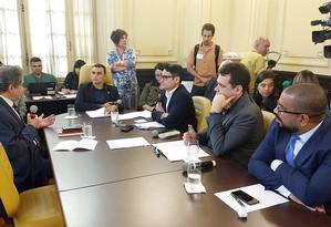 Comissão processante do impeachment ouve testemunhas de acusação Foto: Renan Olaz / Divulgação / CMRJ