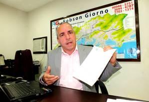 Robson Giorno era pré-candidato à prefeitura de Maricá Foto: Reprodução