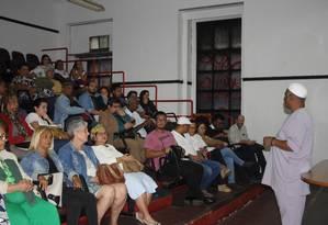 Reunião realizada no último dia 6 para articular demandas do povo de santo para Witzel Foto: Divulgação