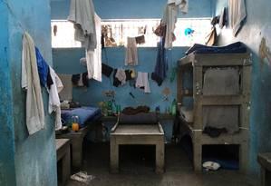 Instalações do Degase sofrem com graves problemas estruturais e de superlotação Foto: Divulgação