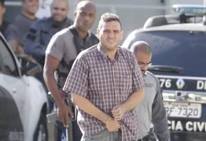 Preso na Operação Lumi da DH, Alexandre Motta, guardava em sua casa 117 fuzis Foto: Márcio Alves em 14/03/2019 / Agência O GLOBO