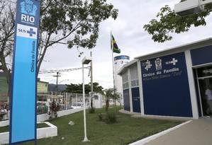 Clínica da Família da Vila Kennedy foi uma das afetadas Foto: Ricardo Cassiano/10-12-2015 / Agência O Globo