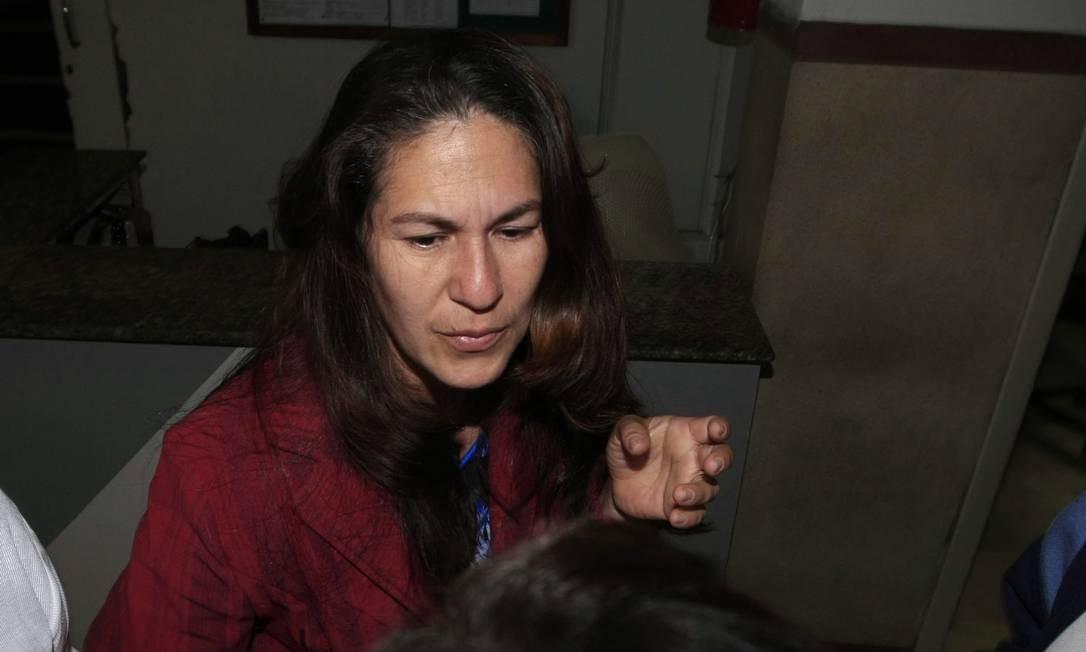 Mãe de Eliza Samudio, Sonia Moura, se mostra indignada com decisão de progressão de pena ao semiaberto concedida ao ex-goleiro Bruno Foto: Marcelo Theobald / Agência O Globo