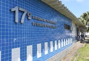 RI - O 17º BPM (Ilha) foi escolhido como projeto piloto para transferência de Registros de Ocorrência para a Polícia Militar Foto: Pedro Teixeira / Agência O Globo