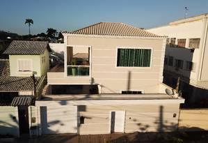 Casa em Jacarepaguá vale cerca de R$ 2 milhões, segundo a polícia Foto: Divulgação