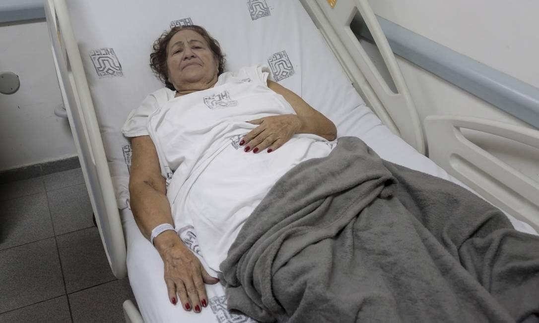 Maria Guerreiro contou como foi sua fuga do Badim Foto: Marcos Ramos / Agência O Globo
