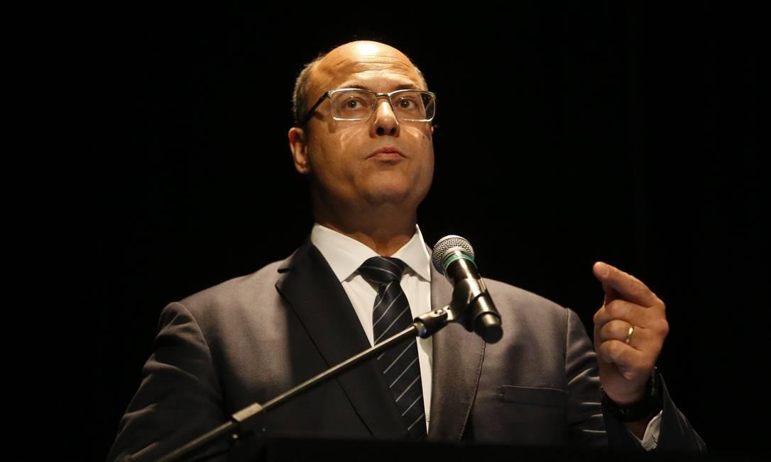 Wilson Witzel, governador do Estado do Rio. Foto: Tânia Rêgo/Agência Brasil / Agência O Globo