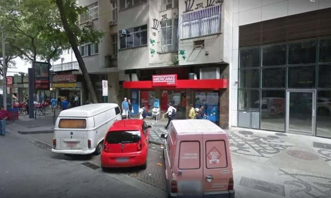 Loja no Flamengo é alvo de constantes assaltos Foto: Divulgação