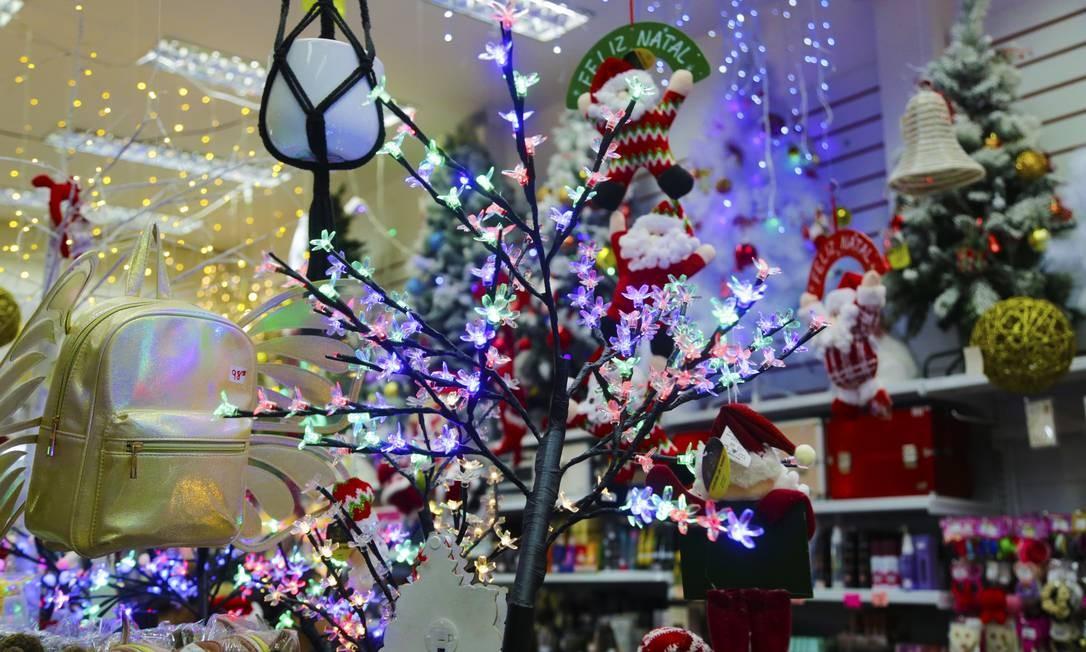 Árvore de Natal Foto: ANTONIO SCORZA / Agência O Globo
