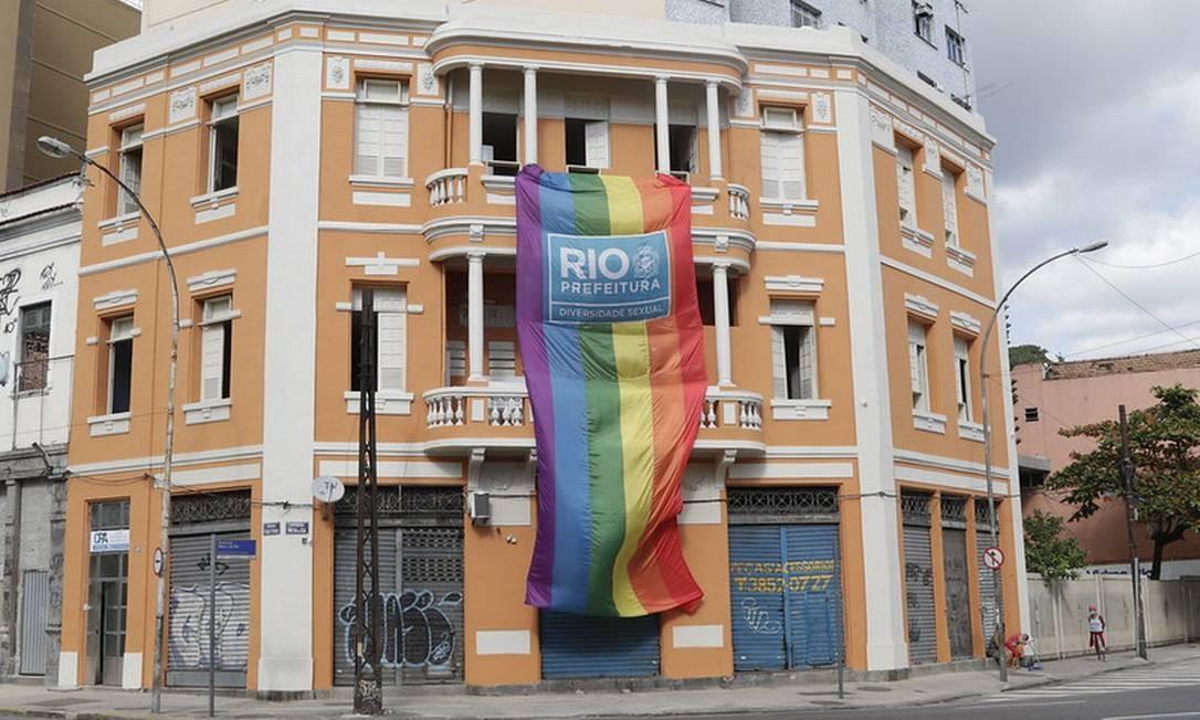 Novo hotel social é inaugurado, com foco na população LGBTI+ Foto: Mariana Ramos / Divulgação / Prefeitura do Rio