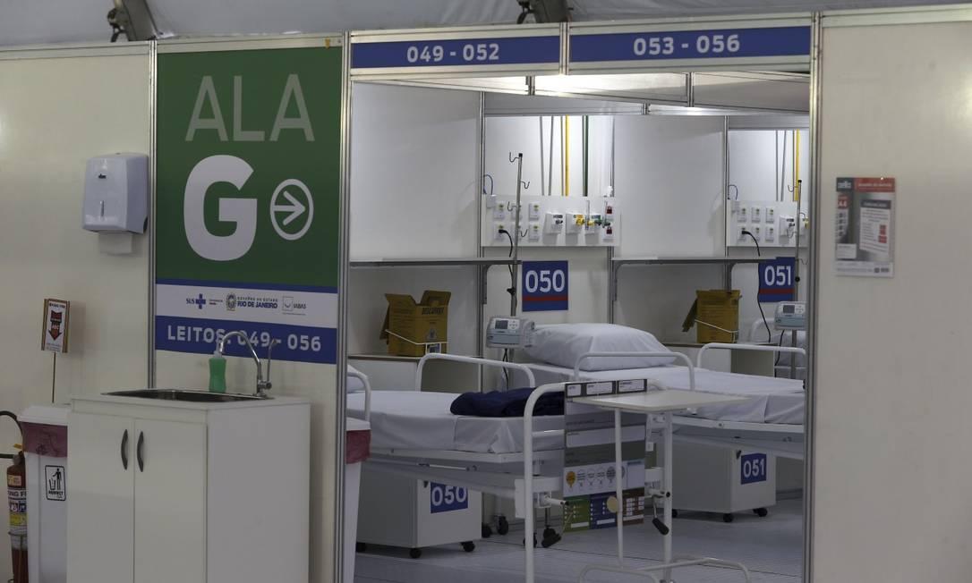 Controladoria suspeita de irregularidades nos gastos com a pandemia Foto: Fabiano Rocha / Agência O Globo