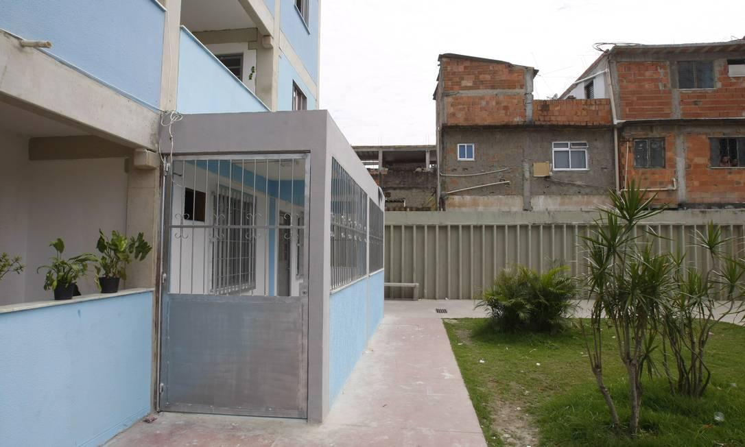 Varanda irregular em projeto habitacional Foto: André Teixeira / Agência O Globo