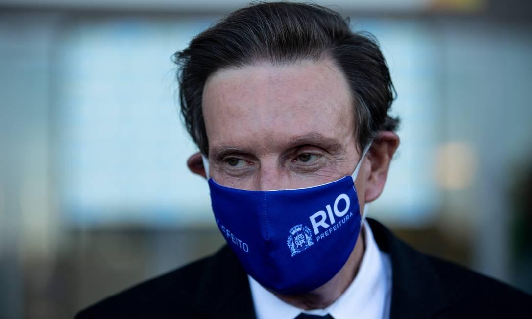 O prefeito Marcelo Crivella Foto: Brenno Carvalho / Agência O Globo