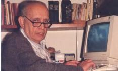 O cineasta mineiro Jurandyr Noronha (1916- 2015) Foto: Divulgação