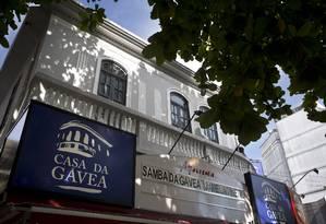 Com atividades marcadas até o dia 31, Casa da Gávea está na iminência de fechar as portas Foto: Márcia Foletto / Agência O Globo