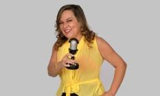 A locutora Monika Venerable Foto: Divulgação