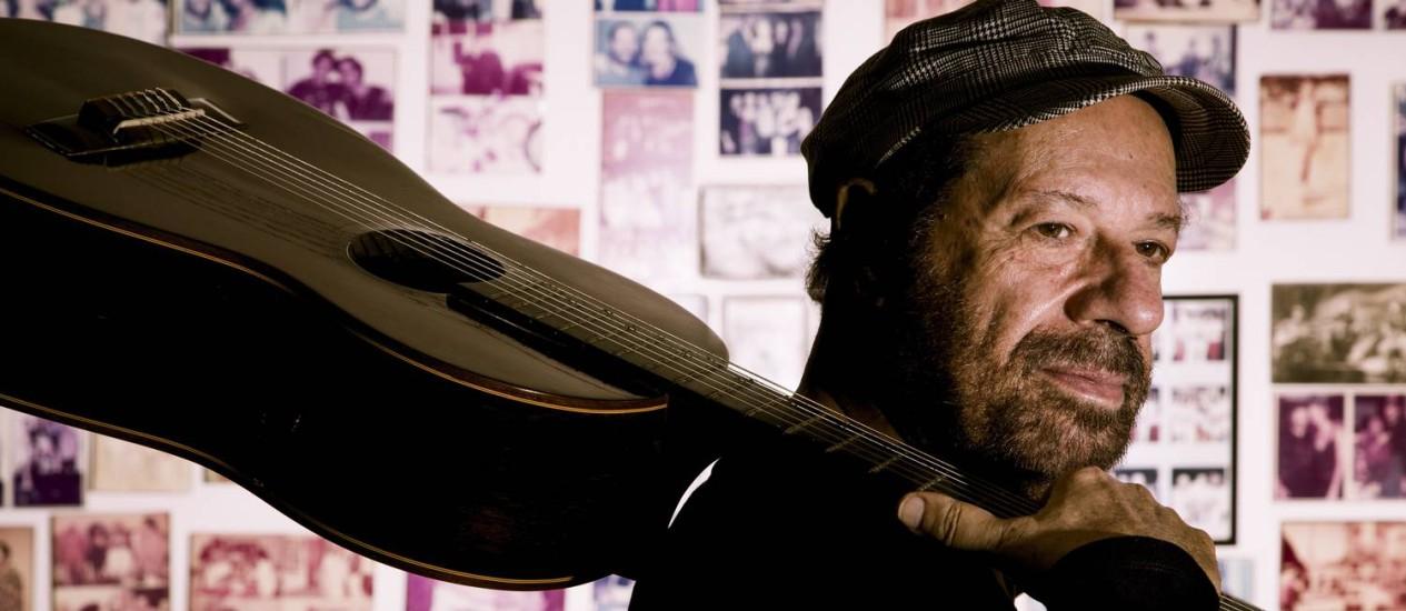 O compositor João Bosco Foto: Leo Martins / Agência O Globo